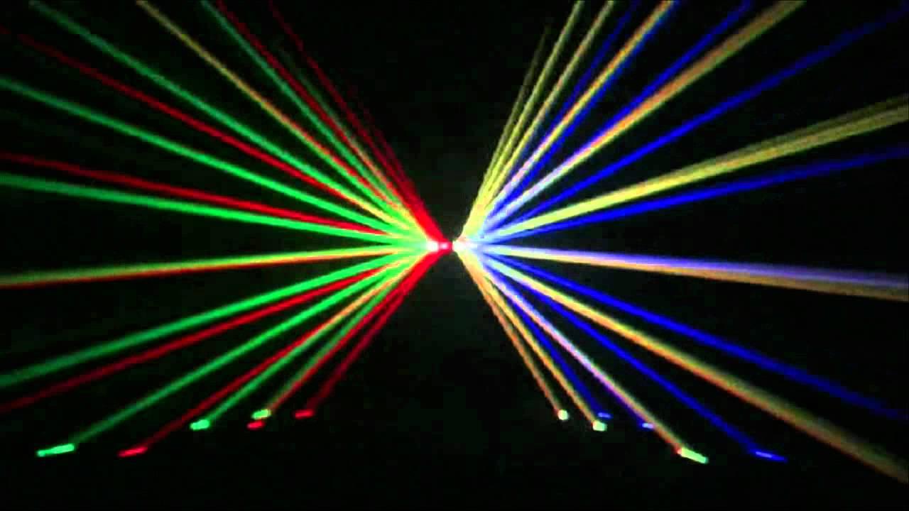 lightmaxx club four 4 fach laser rgyb youtube. Black Bedroom Furniture Sets. Home Design Ideas