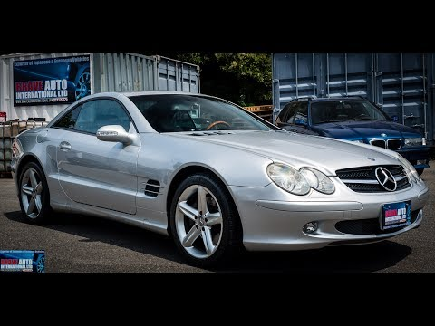 Walk Around/Test Drive - 2002 Mercedes Benz SL500 - JDM Car Auctions