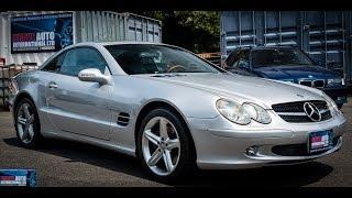 Walk Around/Test Drive - 2002 Mercedes Benz Sl500 - JDM Car Auctions