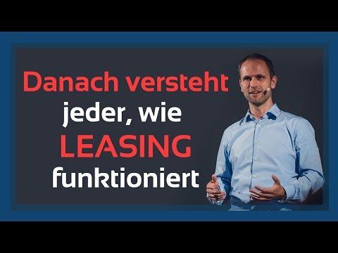 Einfach erklärt: So funktioniert Leasing