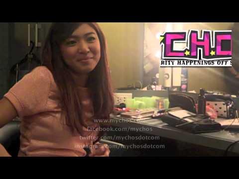 MyCHOS presents Nadine Lustre (GGV pre-interview)