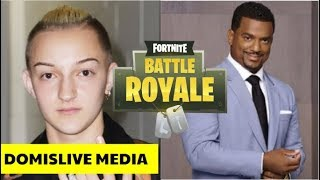 Alfonso Ribeiro & BackPack Kid Sue Fortnite For Stealing Dances