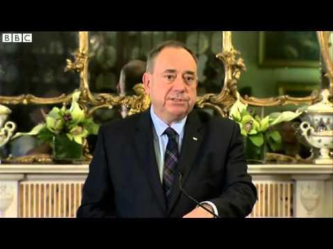 Scottish referendum Alex Salmond to quit after Scotland No vote