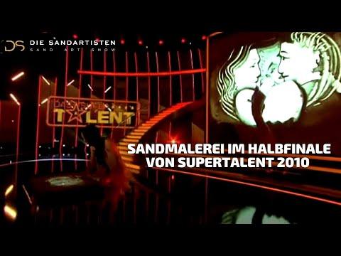 Natalya Netselya - sandart- im Halbfinale von Supertalent 2010