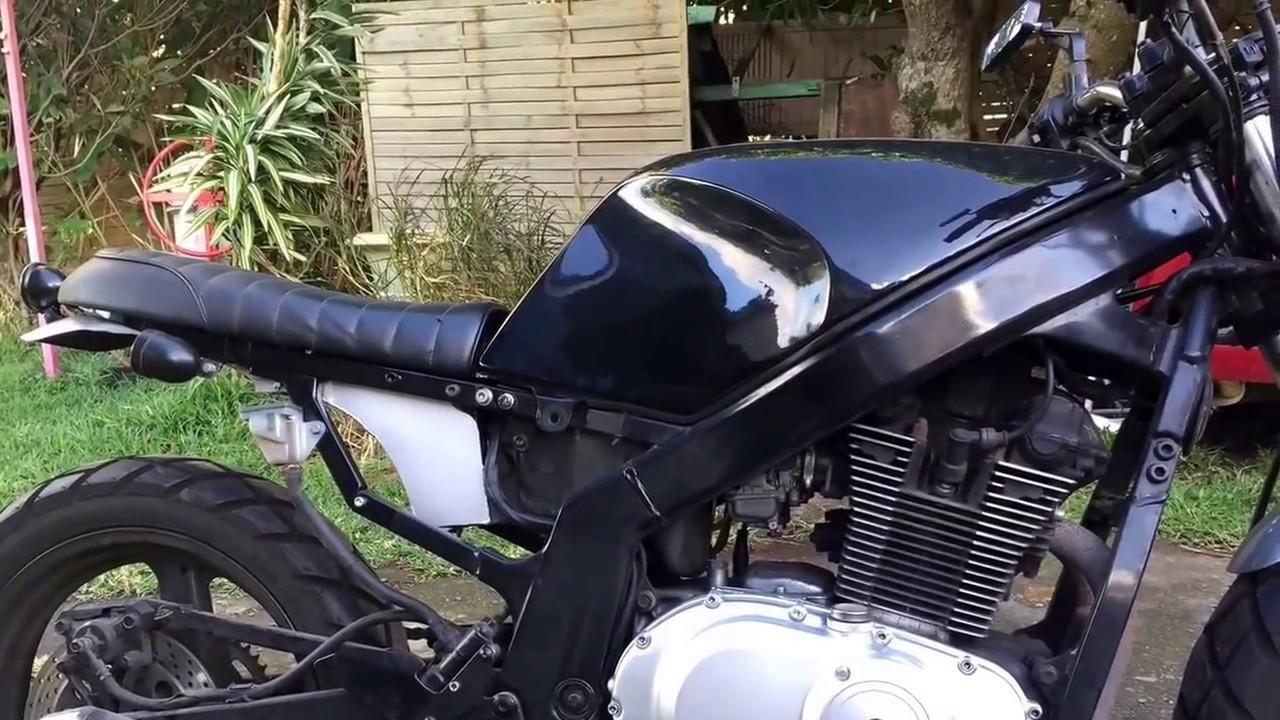 suzuki 500 gs scrambler pr paration run iron works r union moto custom youtube. Black Bedroom Furniture Sets. Home Design Ideas