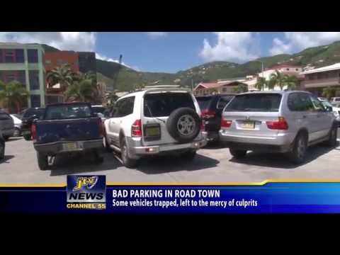 Bad Parking In Road Town