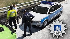 GTA 5 Roleplay - Deutsche Polizei ★ Hamburg-Roleplay ★ FiveM