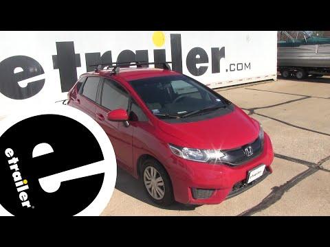 Etrailer   Rhino Rack Roof Rack Review - 2016 Honda Fit