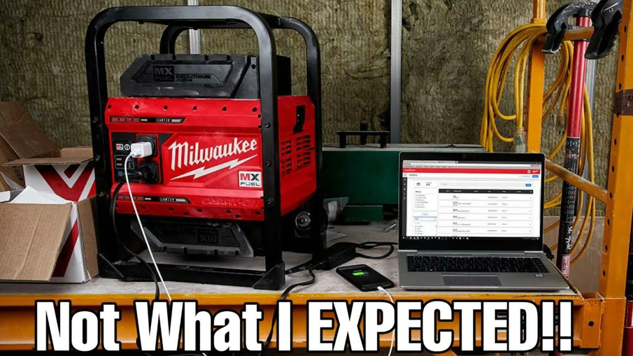 Milwaukee MX Fuel Portable Power Station Pricing ....NOT WHAT I EXPECTED!!