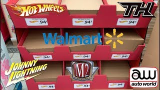 Hot Wheels ISM Holiday Hunting 2018 at Wal-Mart with Lots Of Chases & Super Hunts!!!