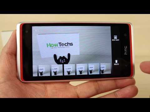How to use the camera or camcorder on HTC Desire 600 dual sim