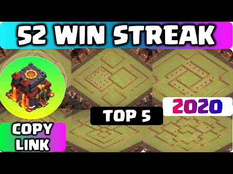 COC TH10 LEGEND + WARBASE With COPY LINK 2020!! Unbeatable & BEST COC TH10 BASE Anti 2 Star & 3 Star