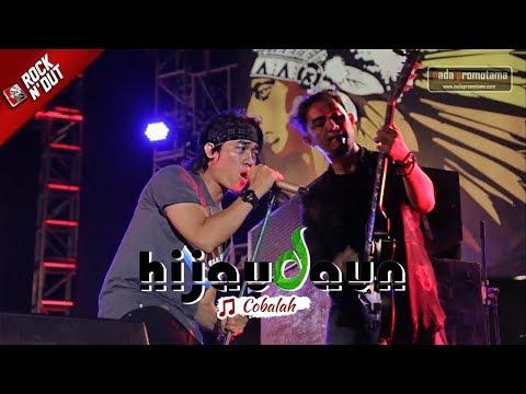 Begini Jadinya Lagu Hijau Daun - COBALAH Dibawain Live | Konser ROCK N' DUT | MAJALENGKA 2017