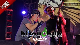 Begini Jadinya Lagu Hijau Daun COBALAH Dibawain Live Konser ROCK N 39 DUT MAJALENGKA 2017