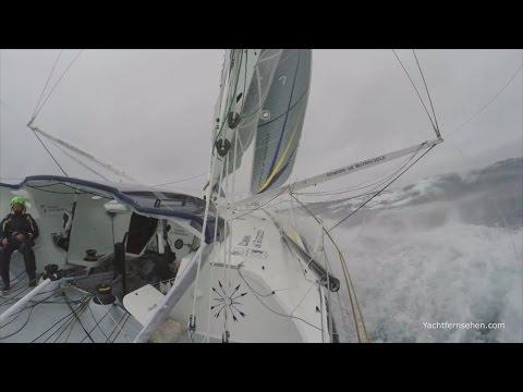 Vendée Globe - damages on IMOCA 60 raceyachts