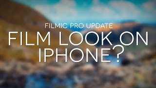 Film Look on iPhone? // Shooting LOG on iPhone (Filmic Pro)