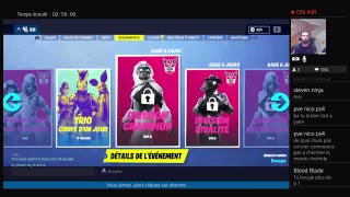 [LIVE/EN] FORTNITE - SI AT LEAST 20 ABOS PRESENT 2 OFFERED OFFERED #CODE CREATOR:chelmito1980