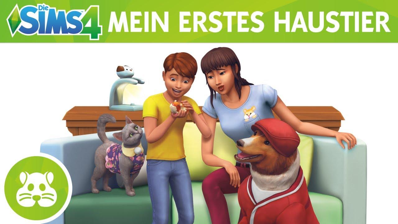 Die Sims 4 Mein Erstes Haustier Accessoires Offizieller Trailer Youtube
