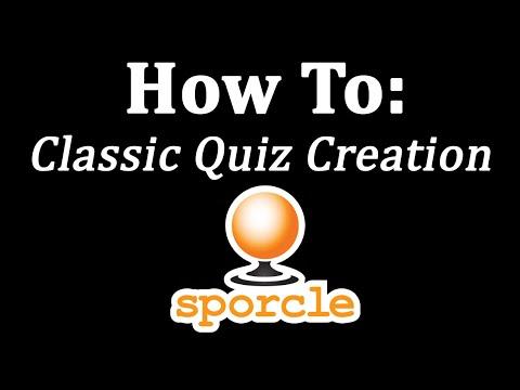 How to Create a Sporcle Quiz | Sporcle com