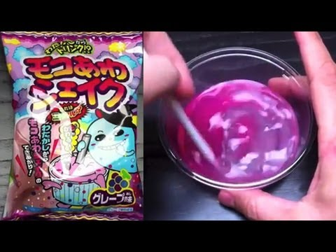 Cool Fluffy Bubble Shake Candy From Japan