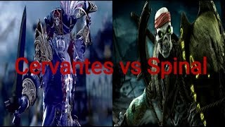 Cervantes vs Spinal Death Battle