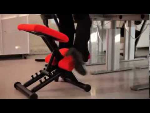 Как сидеть на коленном стуле