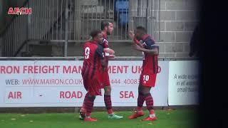 Hampton & Richmond Borough 1 AFC Hornchurch 0 (06 Oct 18) FA Cup - Wellard goal
