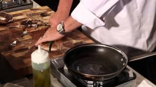 Baby Portobello Mushrooms With Pork Steaks : Great Dinner Recipes