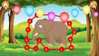 Game Education for Kid ABC Song with Animals.