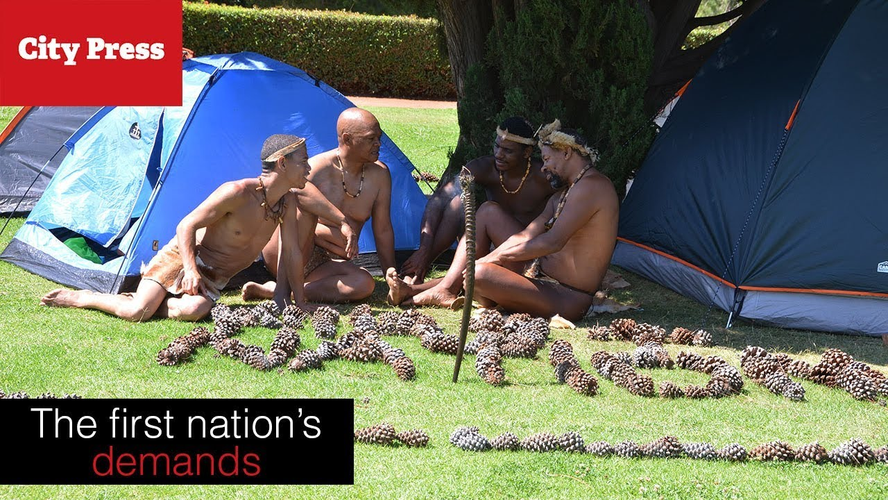 Four demands the Khoisan have for Zuma