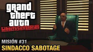 GTA Liberty City Stories - Misión #31 - Sindacco Sabotage (Español/Sin Comentario - PCSX2)