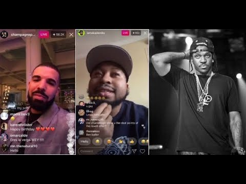 Drake reaches out to DJ Akademiks to Address a rumor that Hes Releasing his Pusha T Diss on Scorpion