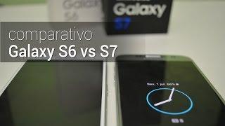 Comparativo: Galaxy S7 vs S6 | TudoCelular.com