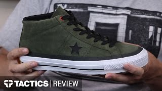 Converse CONS One Star Mid Skate Shoes Review – Tactics.com