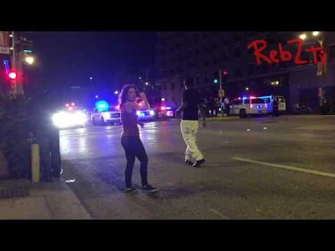 St. Louis Stockley Protests Night 3 - Kettle, Macing & Arrest