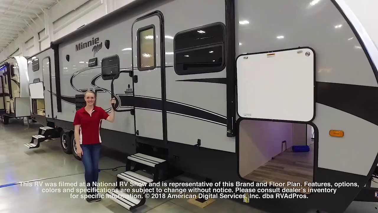 New 2018 Winnebago Industries Towables Minnie Plus 31BHDS Travel