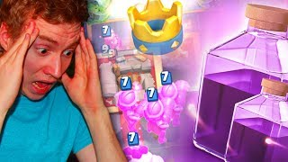 THE RAGE CHALLENGE (3 crown every game) | Clash Royale