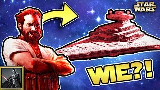 Star Wars: Wie ein Schmugglerboss einen PINKEN Sternenzerstörer bekam [Legends]