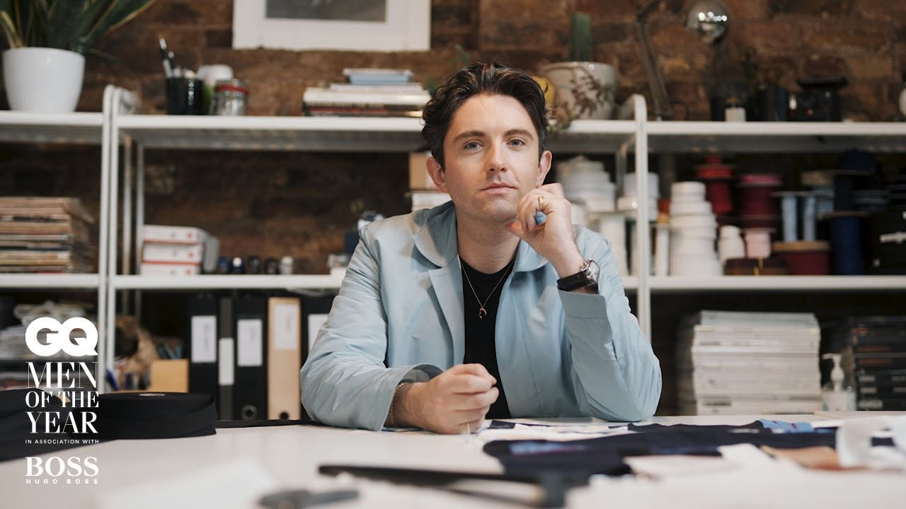 Daniel W Fletcher is GQ's Peroni Breakthrough Designer of the Year  Men Of The Year Awards