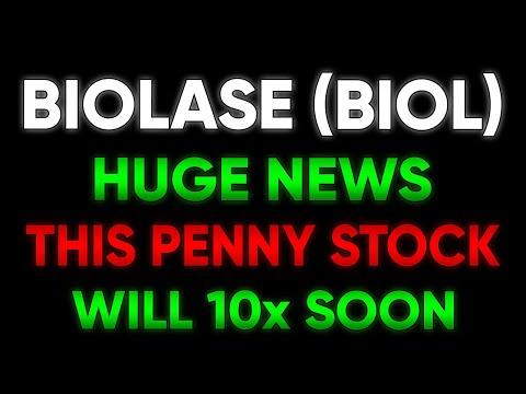BIOLASE HUGE NEWS!