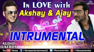 In Love With Ajay & Akshay | Instrumental Hits |90's Superhit Bollywood Instrumental Songs | Jukebox