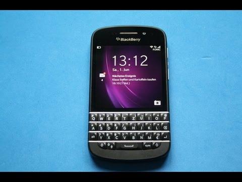 BlackBerry Q10 - Full Review deutsch