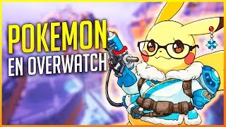 OVERWATCH: MODO POKEMON DENTRO DE OVERWATCH PARTIDA LOCA | Makina