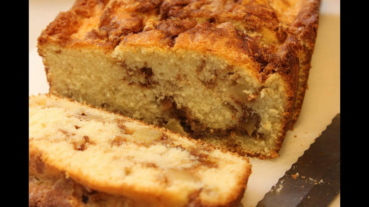 Apple Cinnamon Bread - YouTube
