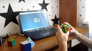 спидкубинг: сборка кубика рубика 3x3 #1