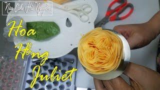 Hướng Dẫn Bắt Hoa Hồng Juliet Bằng Kem Bơ Hàn Quốc - How To Pipe Juliet Rose Flower With Buttercream