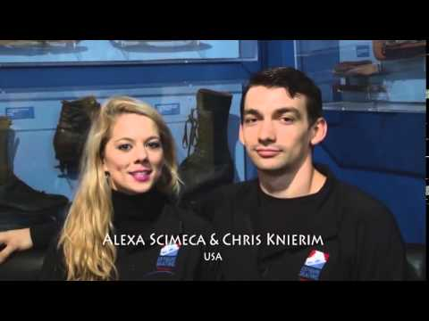 Meet Alexa Scimeca-Knierim and Chris Knierim: Life Beyond Skating from YouTube · Duration:  2 minutes 24 seconds