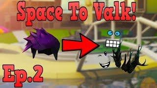 Nós negociamos afastado o cabelo do espaço! -Space to Valk-EP. 2! (ROBLOX TRADING)