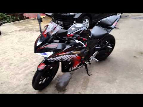 Yamaha R25 Full Modifikasi terbaru