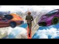 YENİ UÇAN ARABALAR VS KOŞUCULAR !! - GTA 5 Online (Sesegel ...